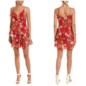 New!!😍 Parker Holly Mini Dress Red Sangria Size L